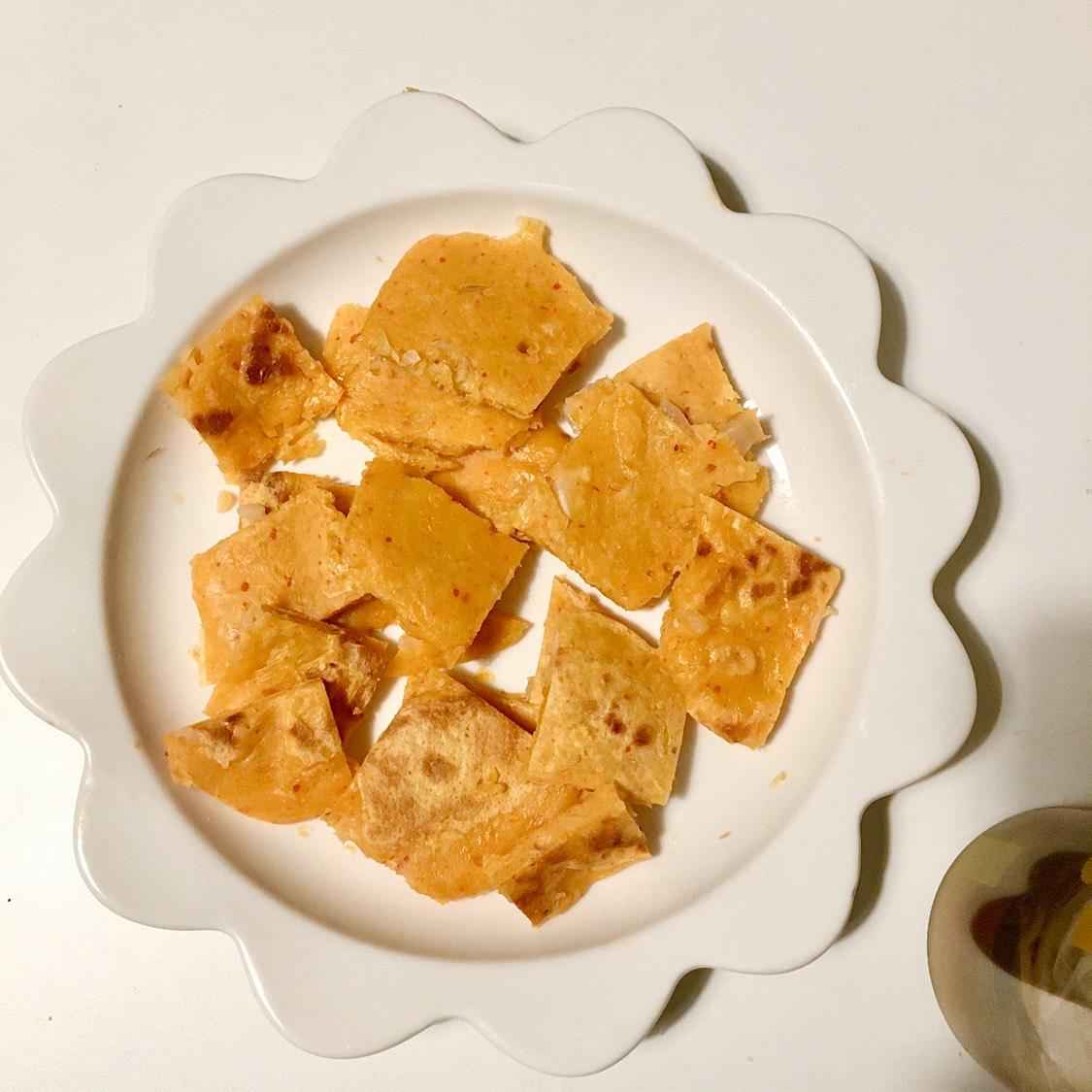 懒人泡菜饼  食材: ☀️泡菜120g