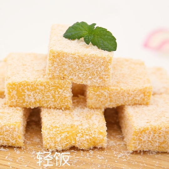 南瓜小方丨南瓜也能做出可爱甜点