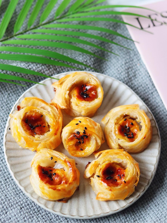 手抓饼版香蕉酥 超级简单快手的早餐