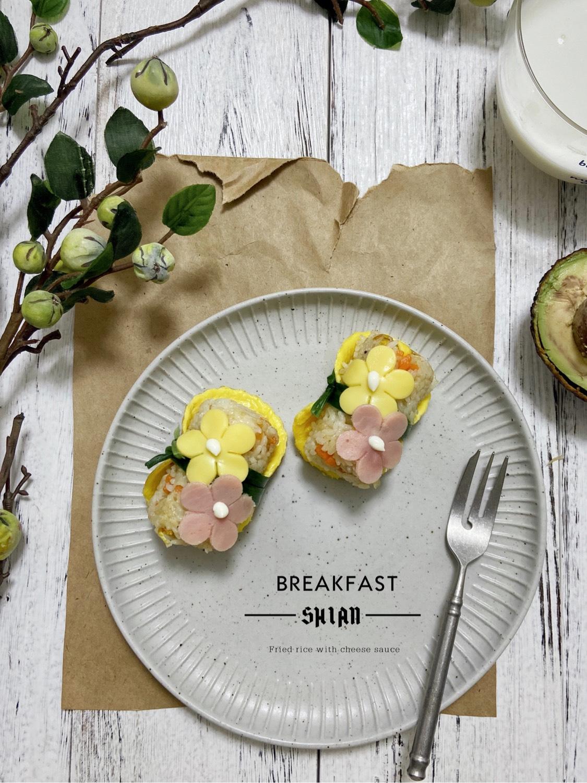 早餐送你一朵花,可好?