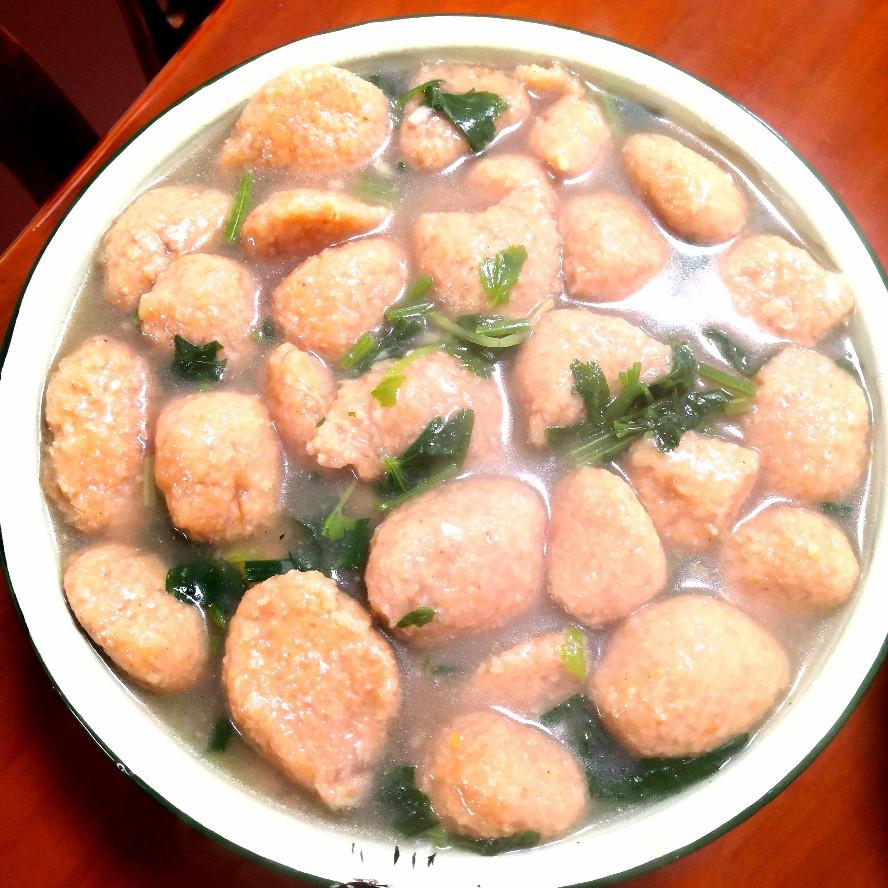 山药丸子汤