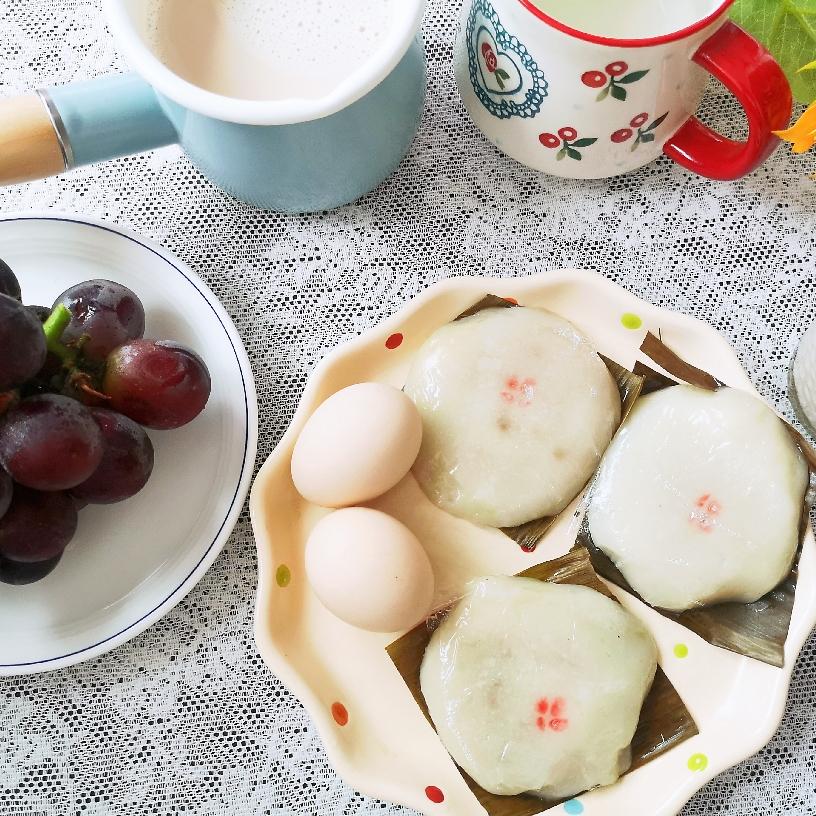 花生豆浆&花生粿
