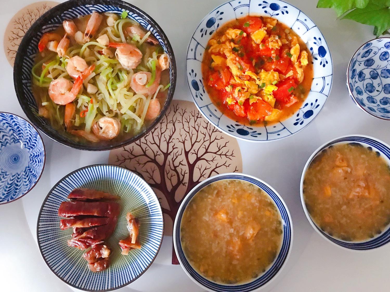 1️⃣1️⃣ 今日晚餐:萝卜丝仙贝丁炖