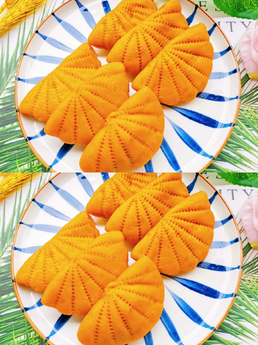 简单好吃的南瓜荷叶饼❗️美味包起来~
