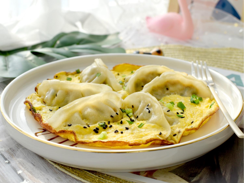 简单美味的【抱蛋煎饺】2种超美造型