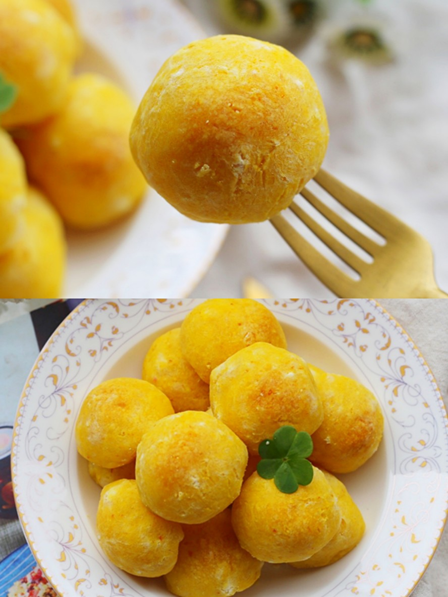 南瓜麻薯包