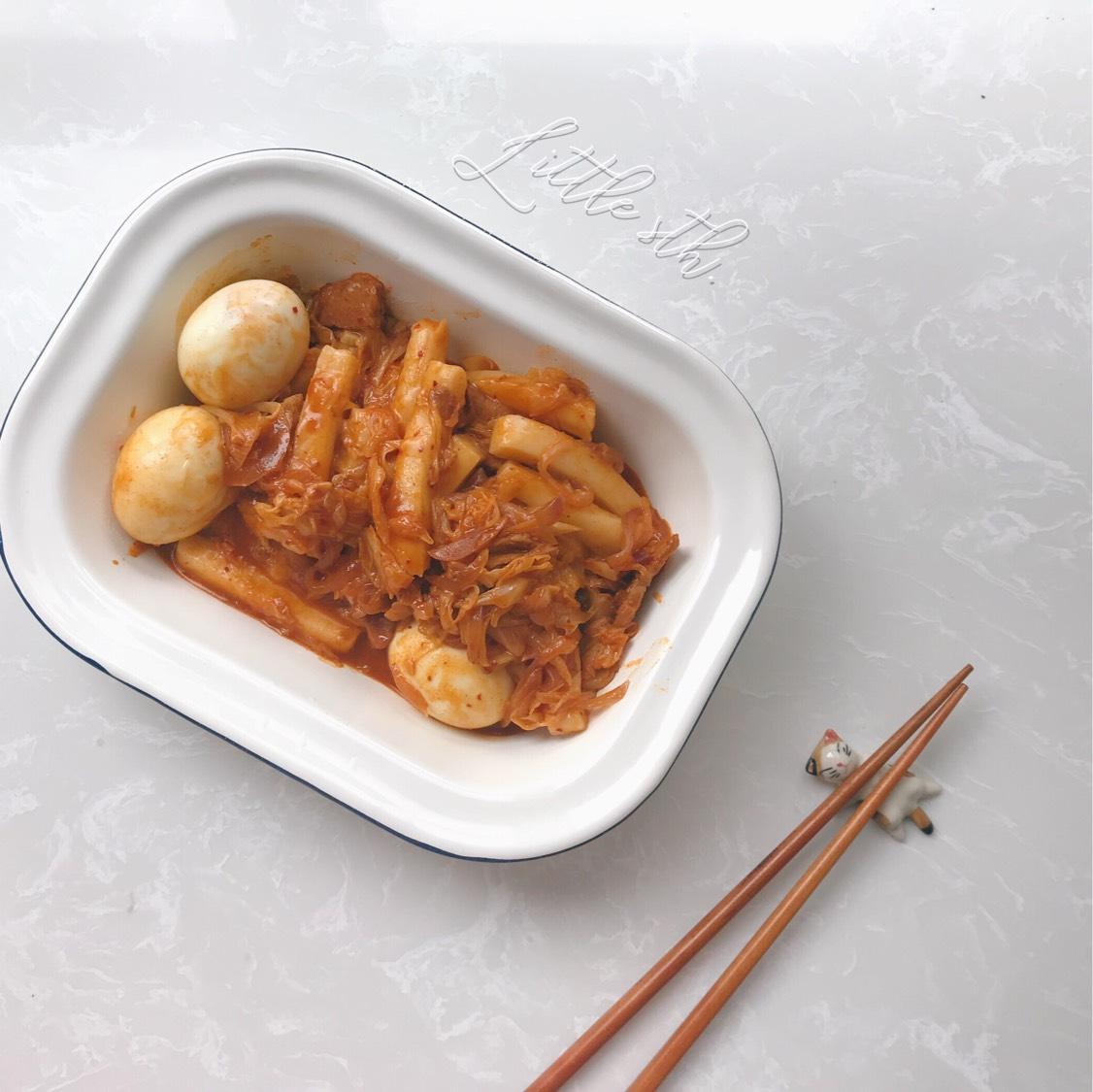 8🈷️ day7⃣️ 韩式泡菜芝士辣