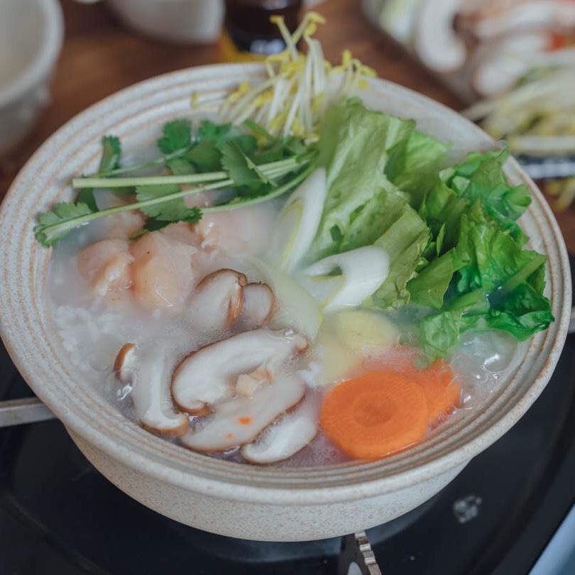 锅料理 | 来碗热腾腾香喷喷的鸡肉蔬菜粥