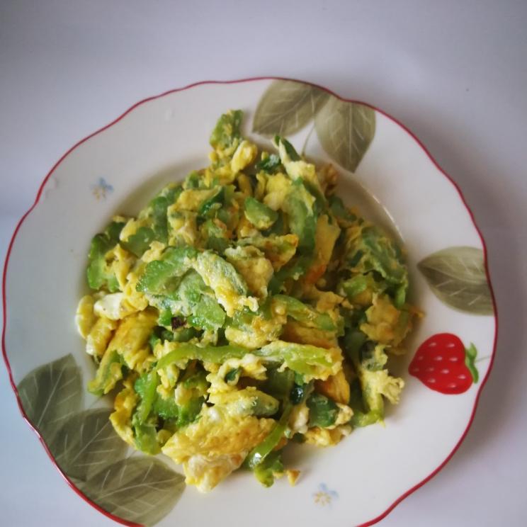 苦瓜炒鸡蛋(图11)