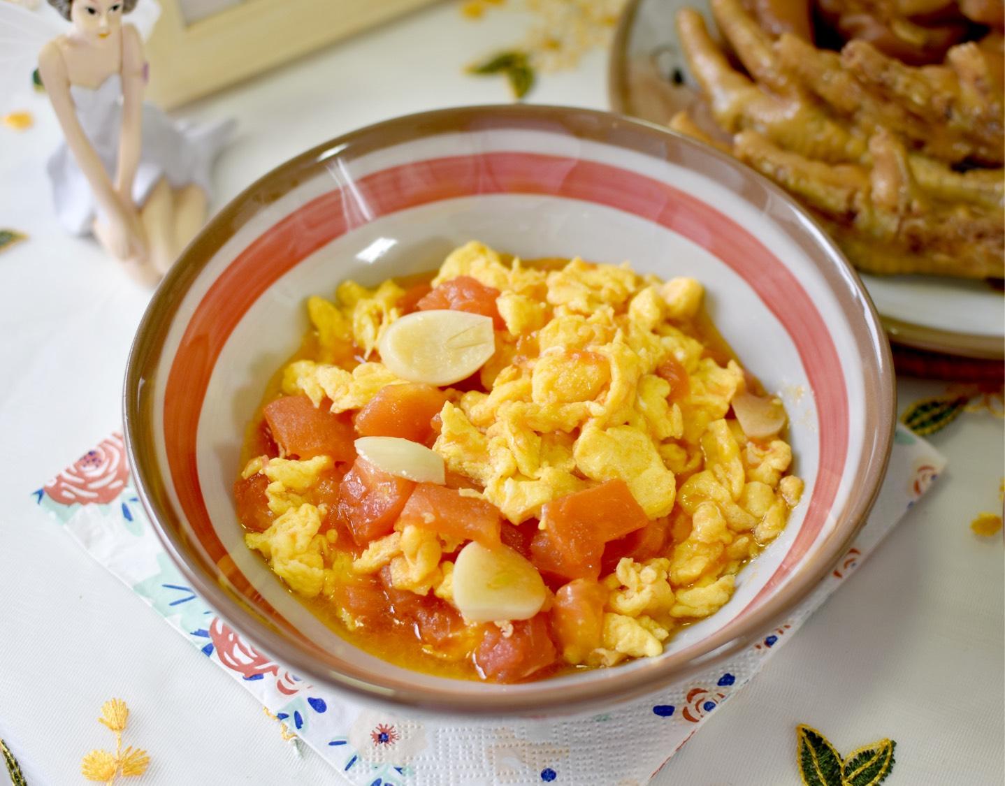 跟老师傅学的【番茄炒蛋】爆好吃!终于学到了饭店里的西红柿炒鸡蛋