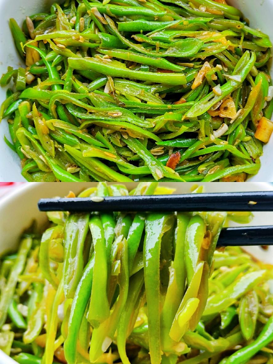 ㊙️巨好吃❗️炒四季豆~比肉还好吃的家常菜