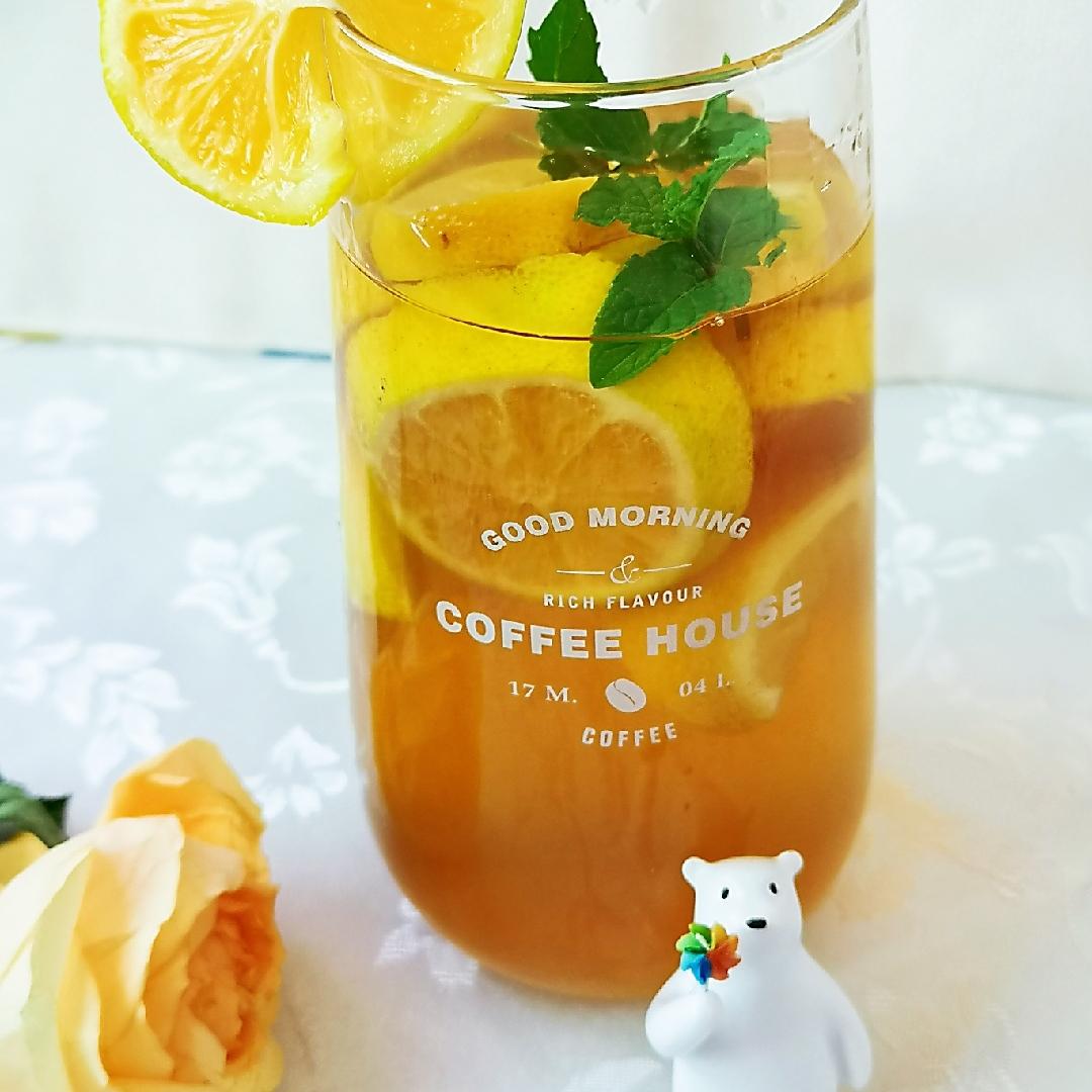 柠香薄荷红茶  🍋柠檬含有丰富的维