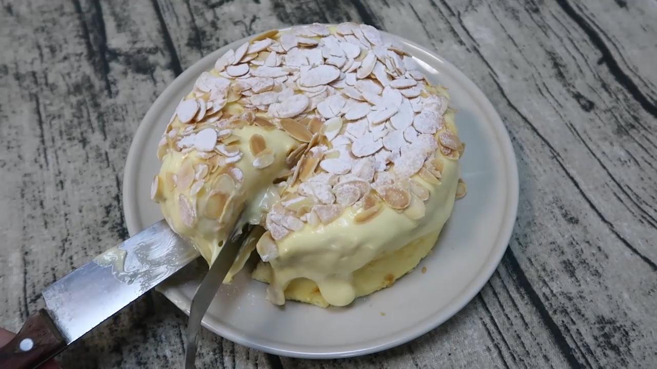 海盐奶盖戚风蛋糕