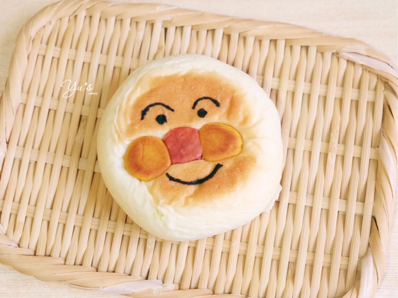 面包超人日式红豆包➕红豆薏米汤  昨晚居