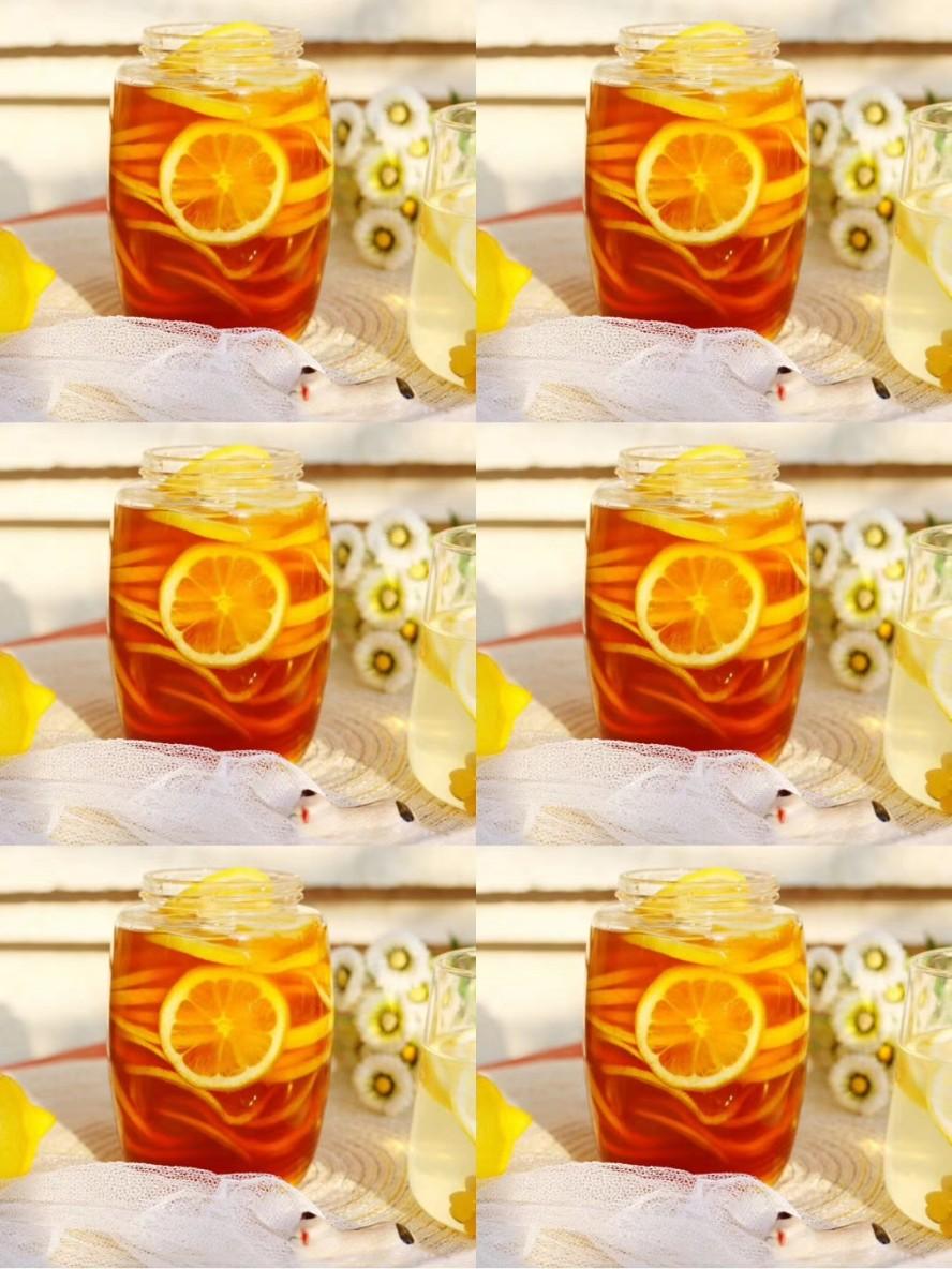 ⭕️每天一杯躺着瘦‼️ 自制柠檬蜂蜜水~