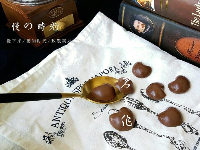 手工調溫巧克力 做法簡單,只要注意細