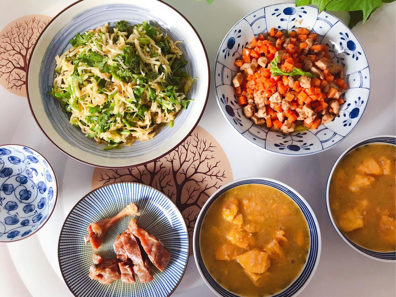 1️⃣2️⃣ 今日晚餐:芥末香菜萝卜丝