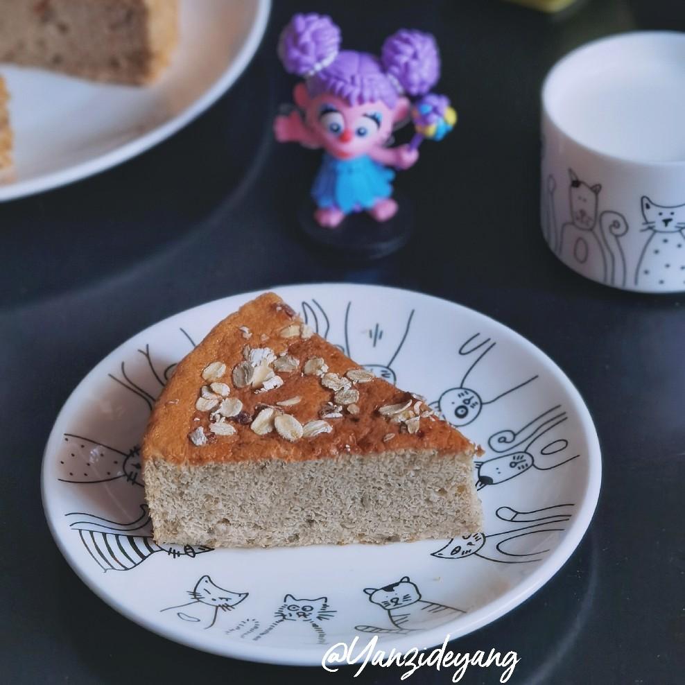金宝小食铺|麦片香蕉蛋糕
