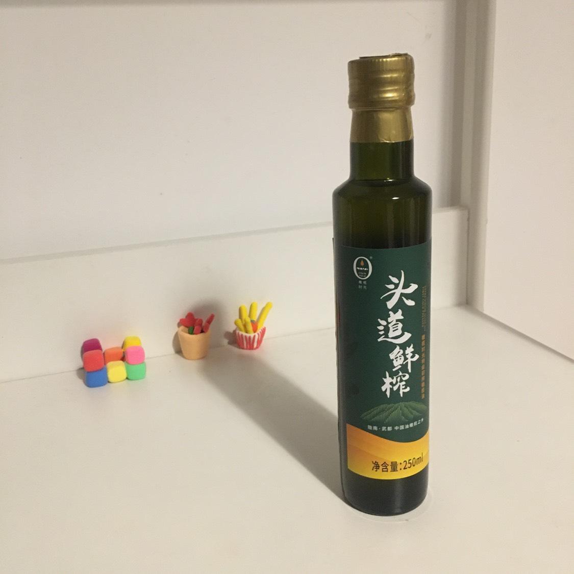 橄榄时光头道鲜榨橄榄油250ml