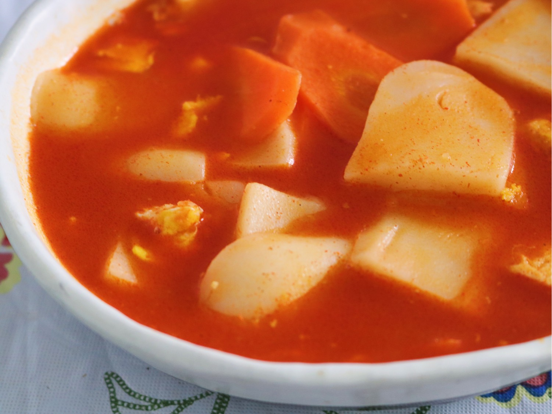 韓式辣??年糕湯???  韓式辣椒醬