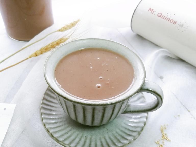 🍁  秋冬养生饮品🍁 之藜麦红豆燕