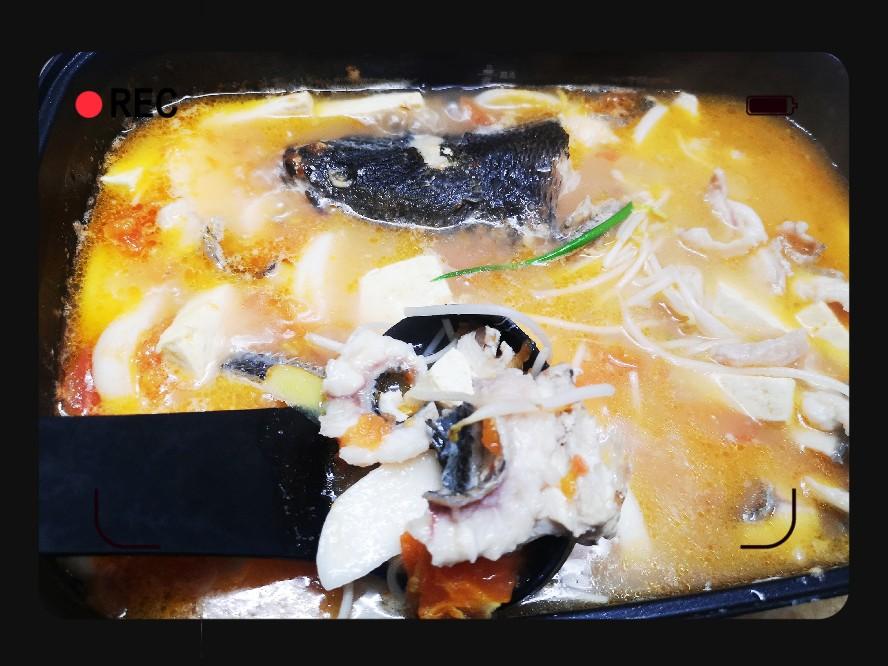 番茄乌鱼汤