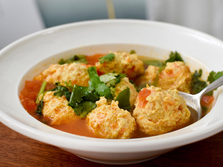 美味的丸子汤就做好啦