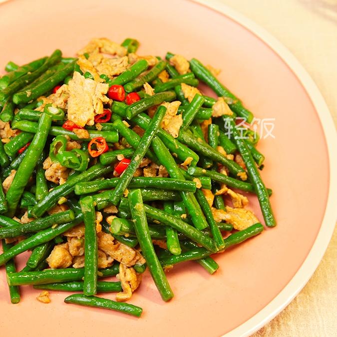 菜豆炒虾酱丨超级下饭又好吃