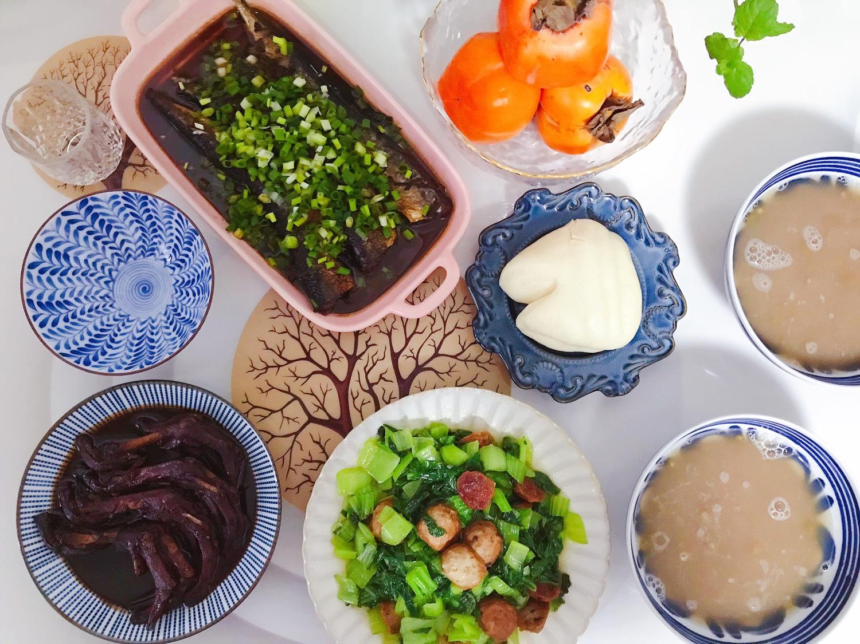 1️⃣0️⃣ 今日晚餐:红烧秋刀鱼(不