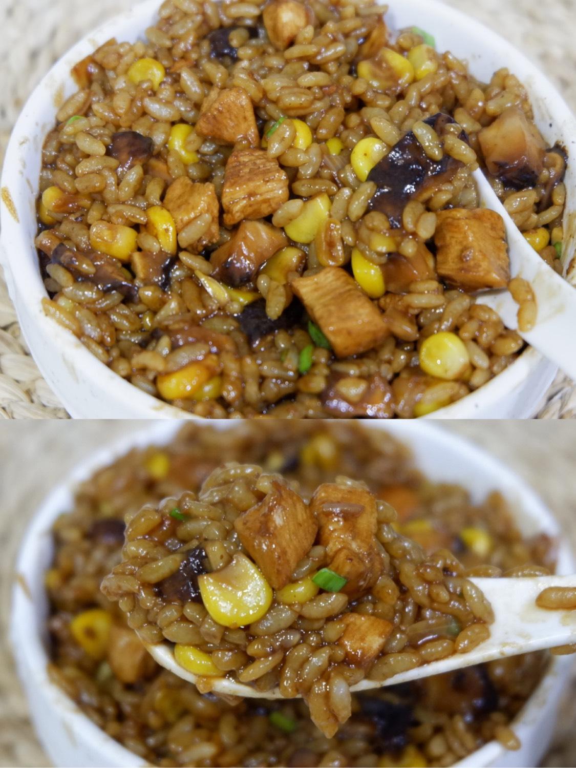 #日日煮食谱专栏 🔥瞬间舔盘‼️香菇鸡肉烩饭💯味道浓郁简单易做