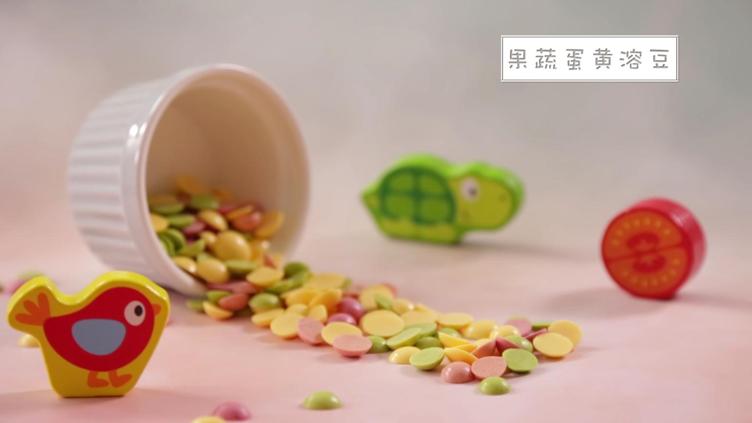 果蔬蛋黄溶豆,给宝宝的生活添点色彩吧~