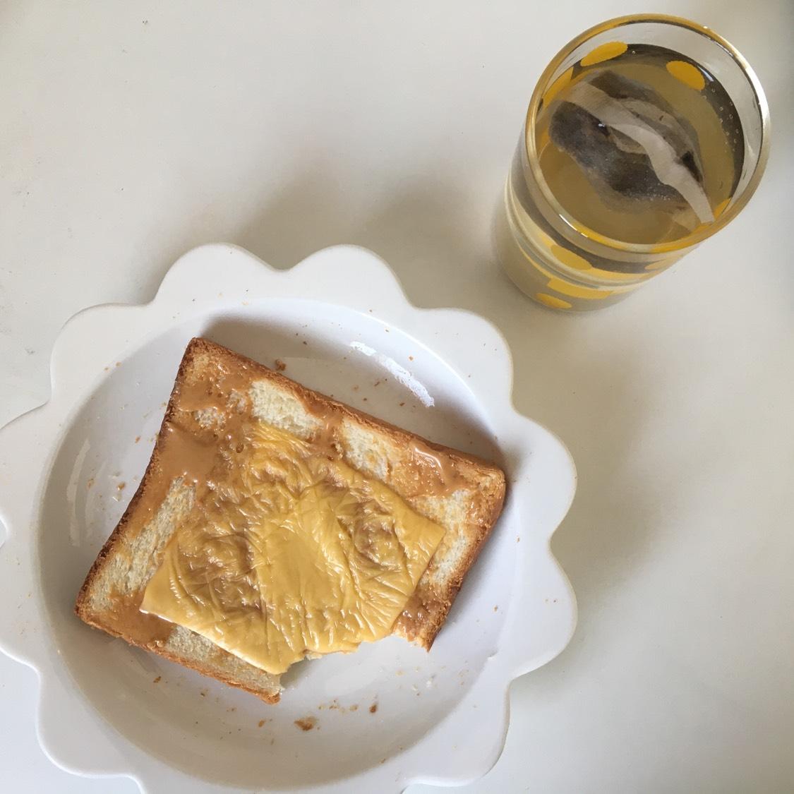 跟昨天差不多的早餐 没有锅的日子差不