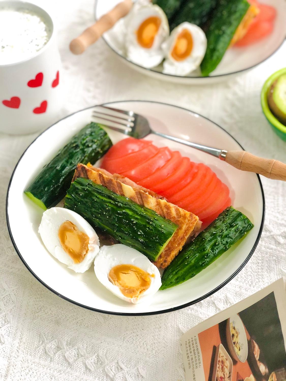 早餐㊙️双人早餐 快手早餐食谱分享 4⃣