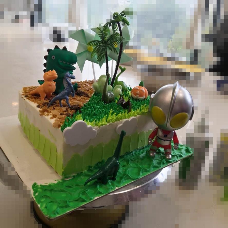万圣节蛋糕😁