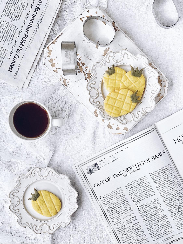 ㊙️🔥吃可爱长大的菠萝曲奇饼干‼️简