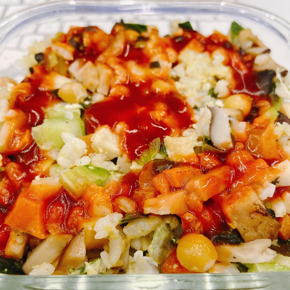 什锦蔬菜炒饭